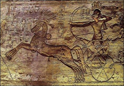 Ramses II and the battle of Kadesh